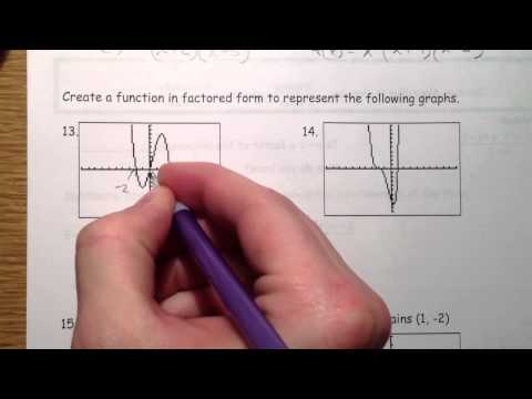 Graphing Polynomials (2 of 2)