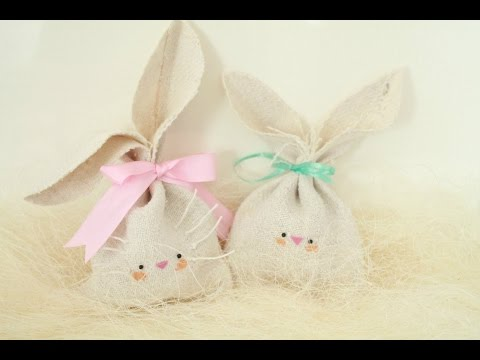 DIY: Easy Easter Gift Idea - Bunny Treat Bag ● HD