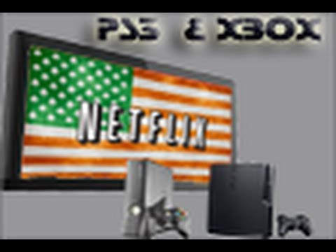 How to get American Netflix on PS3 and Xbox