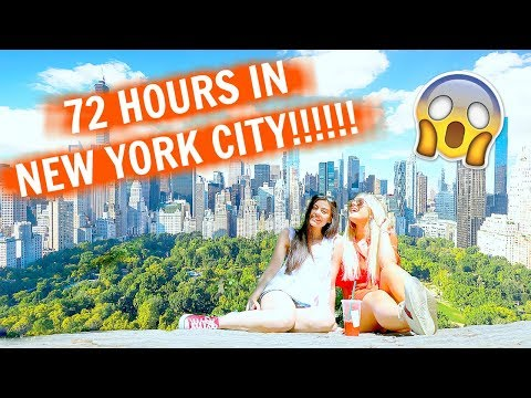 72 HOURS IN NEW YORK CITY!!🗽🍎 | Lucy Flight