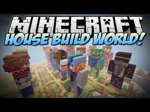 Minecraft | HOUSE BUILD STATUE WORLD RELEASE! | Build Showcase