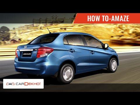 How to Adjust Car Mirrors in Honda Amaze   CarDekho.com