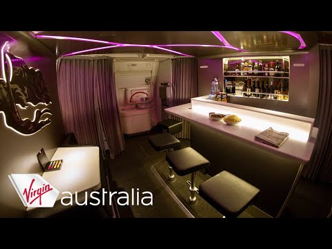 Virgin Australia VA1 Boeing 777 Business Class Sydney - Los Angeles Flight Review