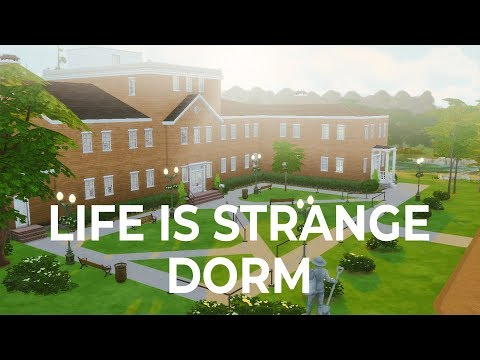 The Sims 4 build | Life is Strange Dorm
