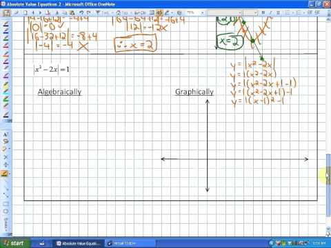 7.3: lesson 2 (Solving Absolute Value Equations: Module 2)