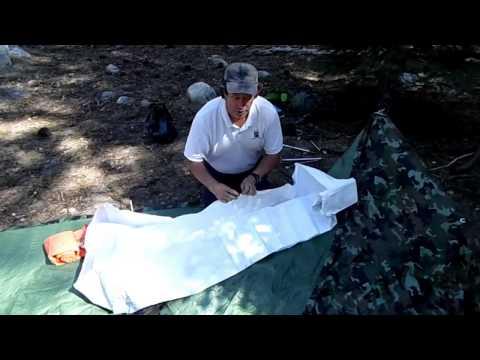 Tyvek Bivy sack. Tyvek sleeping bag cover