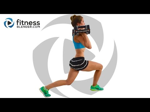 Fat Burning Butt and Thigh Workout - Strength Training Sweatfest for People Who Get Bored Easily