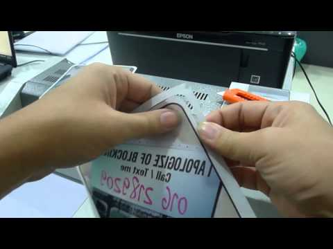 DIY Printing Car Sign Video Clip