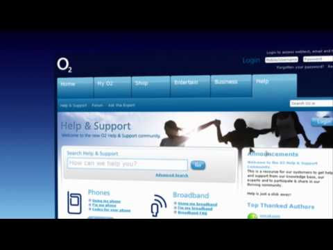 O2 Help and Support