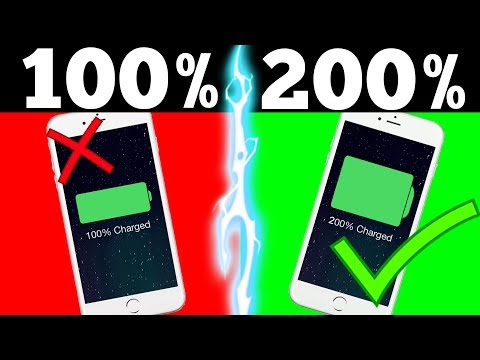 TRICK TO DOUBLE YOUR PHONES BATTERY LIFE (IT ACTUALLY WORKS!)