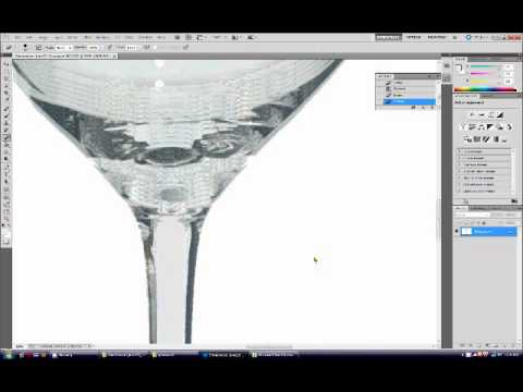 Photoshop cs5 tutorial create white background