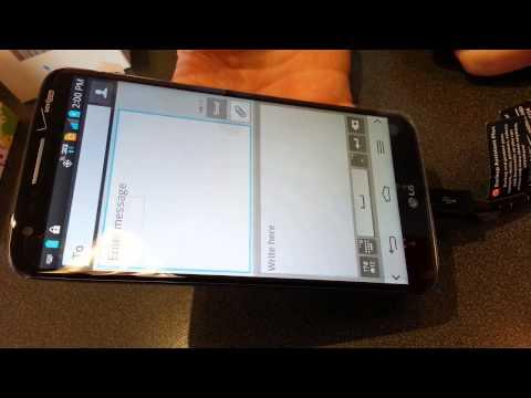 Mic on keyboard LG G2