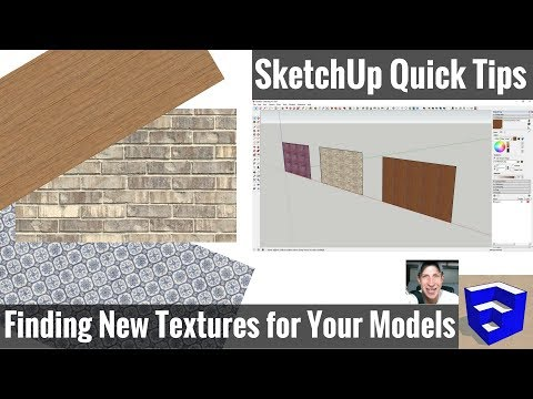 4 Places to Find Textures for Your SketchUp Models - SketchUp Quick Tips