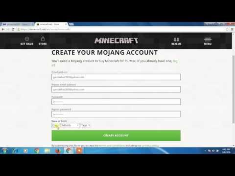 how to verify minecraft account