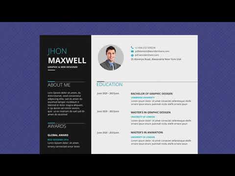 Free Professional Resume Template - Business Basic Pro