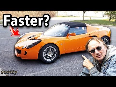 Can this 4 Cylinder Lotus Elise Outperform a Turbocharged Toyota Aristo