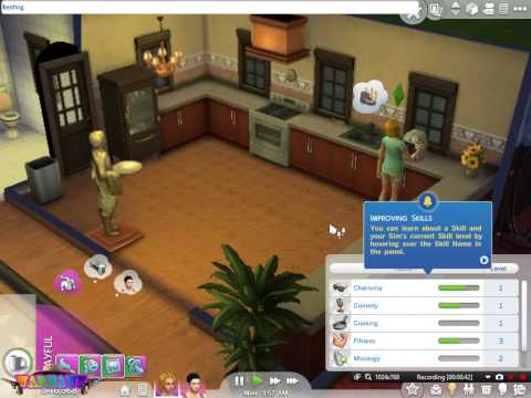 The Sims 4 Infinite Needs + Skills Cheat