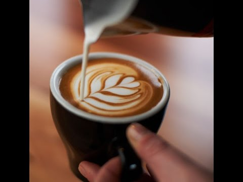 How to Make latte art coffee Using Milk frother