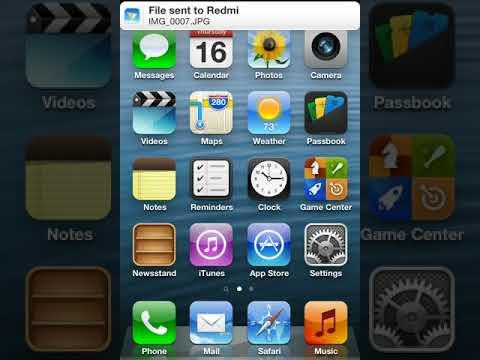 Cara transfer data via bluetooth di iPhone