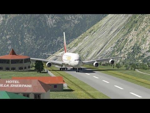 Huge Planes At Lukla Airport