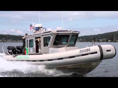 USCBP Border Patrol 26' S.A.F.E. Boats on Patrol