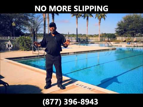 How to Prevent Slipping on Pool Decks No More Slipping Pool Deck