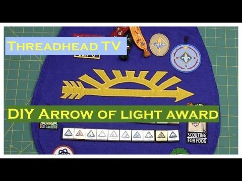 DIY Arrow of Light Award Cub Scout Webelos