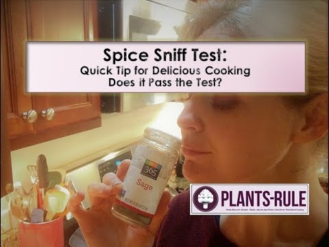 Sniff Test for Spices: Simple Chef's Tip for Delicious Cooking from Plants-Rule