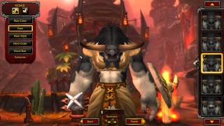 Warlords of Draenor Horde Faces