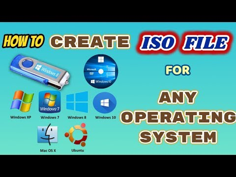 How To Create (Normal File to ISO File) For Any OS Files - Windows 7,8,10 - Tamil