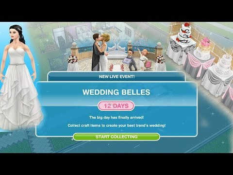 Simsfreeplay - Wedding Belles Live Event