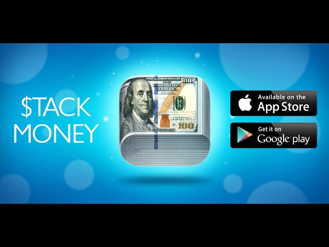 New App!: Stack Money Game App Preview - Addictive New App!