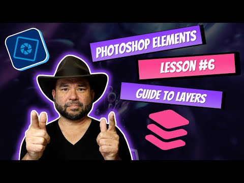 Learn Photoshop Elements - Lesson #6 Layers for beginners