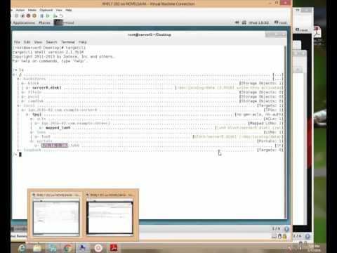 ISCSI Client Configuration RHEL7