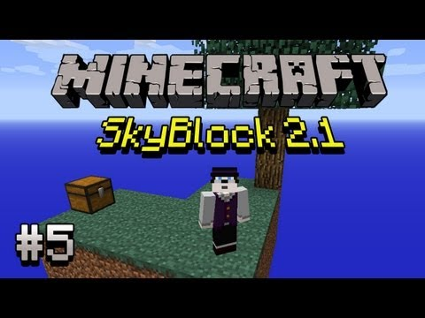 [Let's Play] Minecraft: SkyBlock - #05 Infinite Water