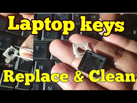 Laptop Keyboard Keys Replace & Clean