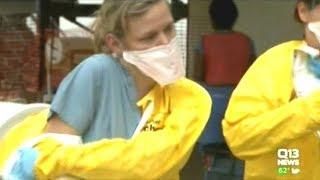 Ebola Confirmed In Large DR Congo City Mbandaka