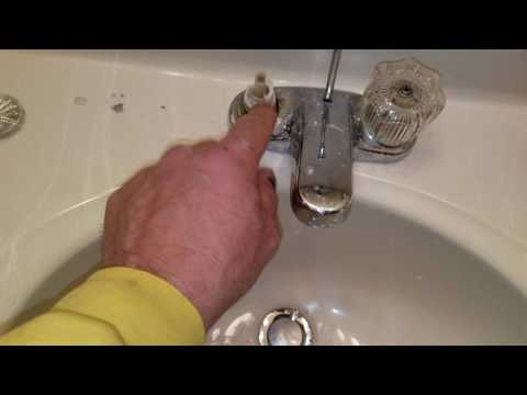 Dripping Delta faucet, replacing washers.
