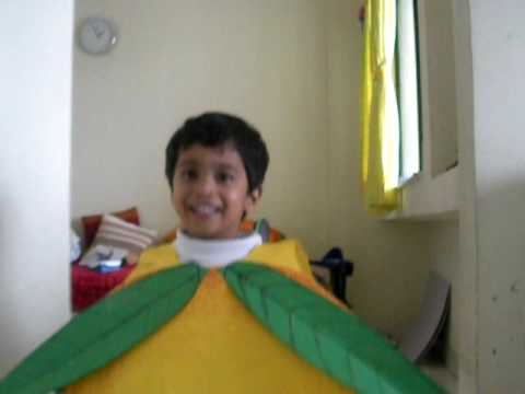 atharva mango....school fancy dress compitition..