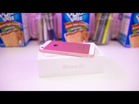 iPhone SE Unboxing!