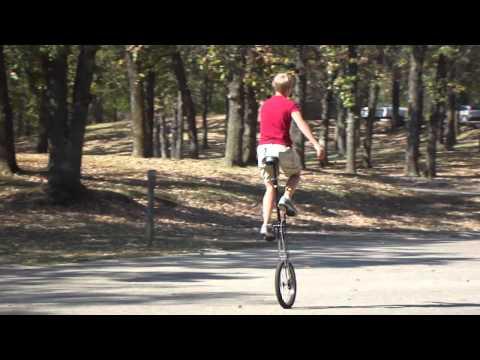 Jacob  on 5 ft unicycle