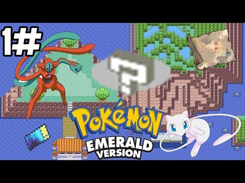 Pokémon Emerald| Unlock Faraway Island and Birth Island 1/4: fast cloning glitch