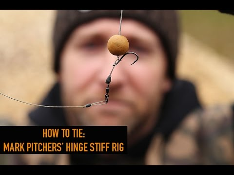 ***CARP FISHING TV*** How To Tie: Mark Pitchers' Hinge Rig