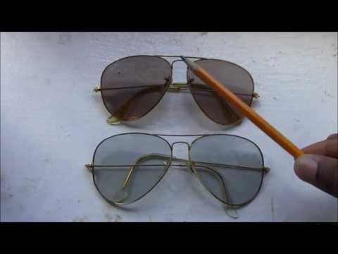 How To Tell your Vintage Ray-Ban Large Metal Aviator is fake or 100% genuine