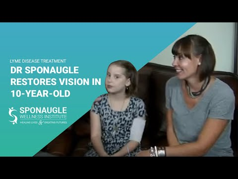 Lyme Disease | Dr Sponaugle Restores Vision in Child