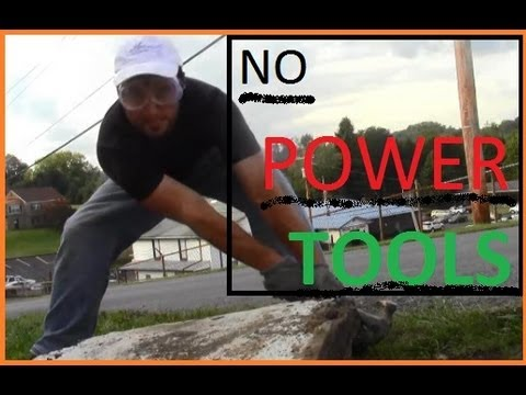 How to Remove Concrete Sidewalk Slabs With No Sledge Hammer
