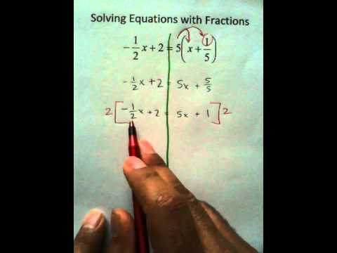 Moya Math Algebra 2 (Solving Equations With Fractions 2)