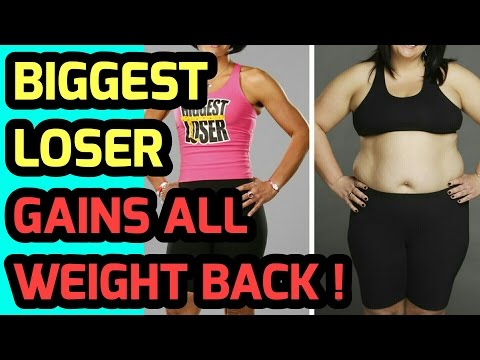 Biggest Loser Weight Gain: Biggest Loser Gain Weight Back: My Weight Loss Tips To Lose Weight Fast!