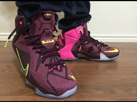 online store 7b3c8 81418 Lebron 12 Helix Nike outlet steal unbox and on feet review