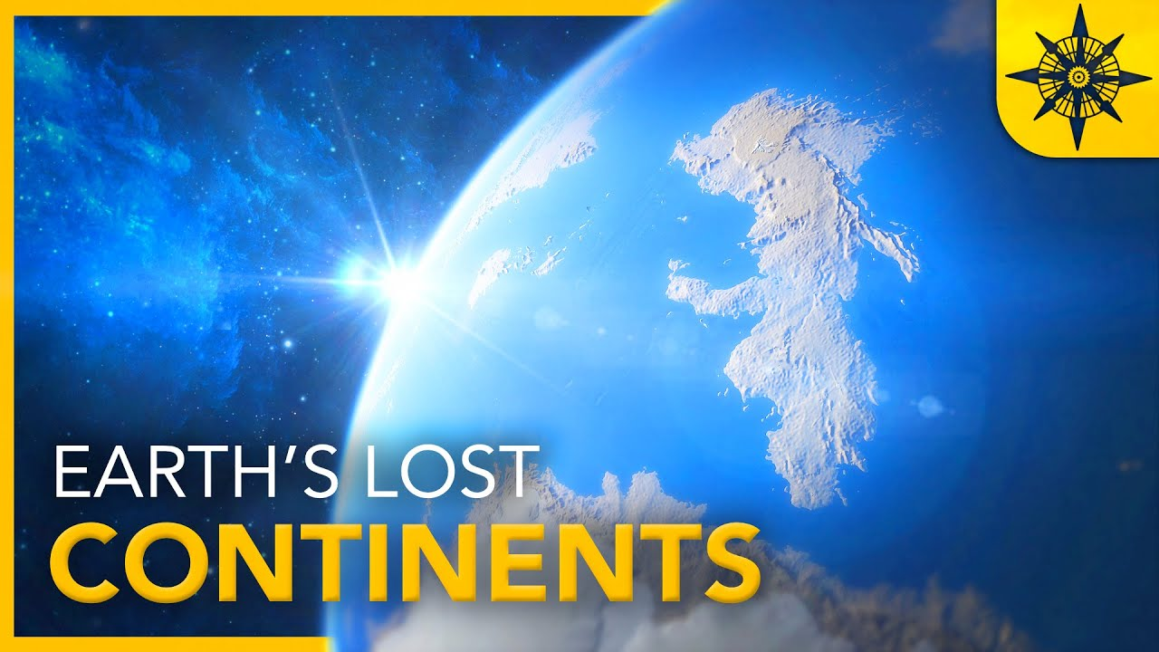 Earth's REAL Lost Continents